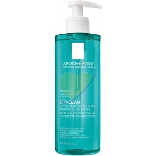 La Roche-Posay Effaclar Duo Gel Micro Peeling Cleanser Detergente 400ml