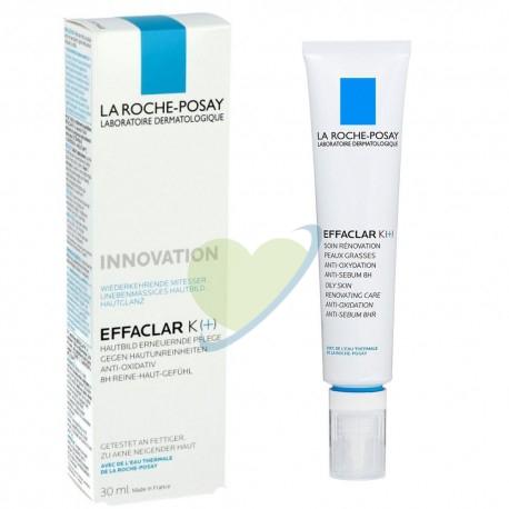 La Roche-Posay Effaclar K+ Trattamento Rinnovatore Pelle Grassa 40 ml