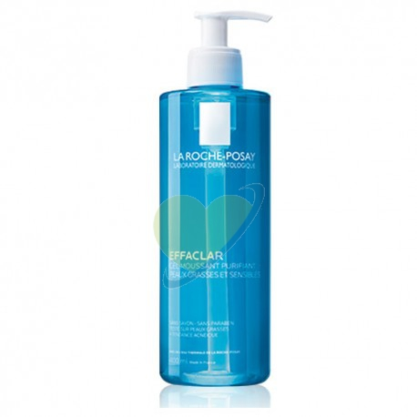La Roche-Posay Effaclar Foaming Gel Detergente Schiumogeno Purificante 400 ml