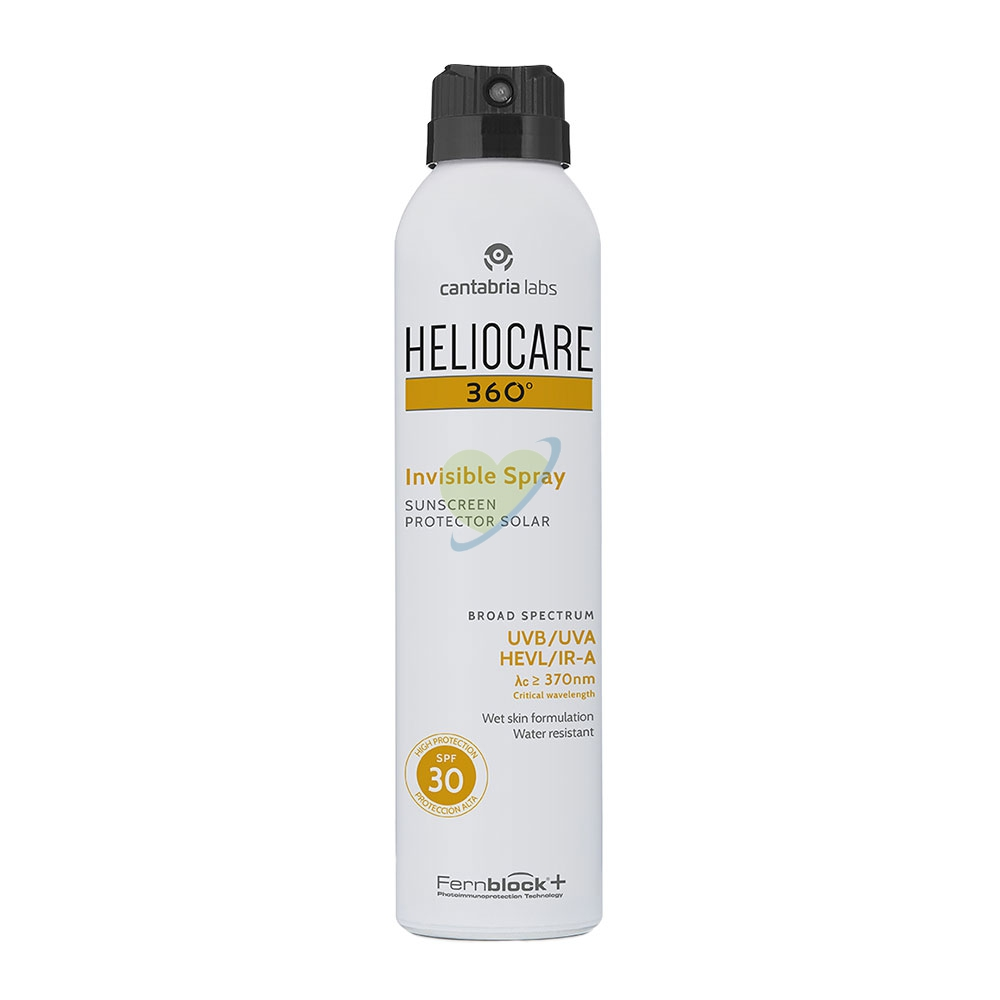 Heliocare 360° Invisible Spray Solare SPF 30 200 ml
