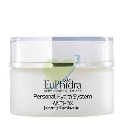 EuPhidra Linea Personal Hydra System Anti-Ox Crema Viso Illuminante 50 ml