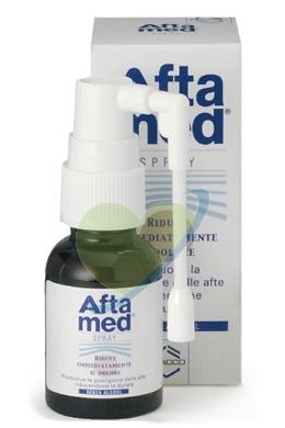 Aftamed Spray Orale Lenitivo Calmante Anti-Irritazioni 20 ml