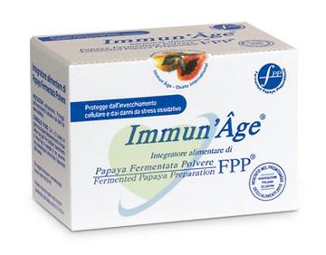 Immun'Age Linea Intergatori Rigeneranti Papaya Liofilizzata 60 Buste Orosolubili