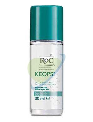 RoC Linea Deodoranti Keops Deodorante Roll-on Classic Senza Alcool 30 ml