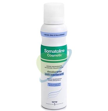 Somatoline Cosmetic Linea Deodorante Pelli Sensibili Spray Delicato 150 ml