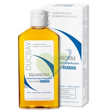 Ducray Linea Capelli Forfora Grassa Squanorm Shampoo Riequilibrante 200 ml