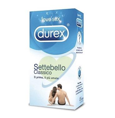 Durex Linea Classica Settebello Cassico Condom Confezione con 18 Profilattici