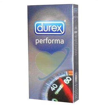 Durex Linea Performa Ritardante Forma Classica Confezione con 12 Profilattici
