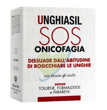 Unghiasil Linea Unghie Trattamento SOS Onicofagia Rosicchiamento Unghie 12 ml