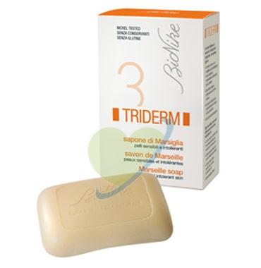 BioNike Triderm Linea Detergenza Quotidiana Sapone Solido di Marsiglia 100 g