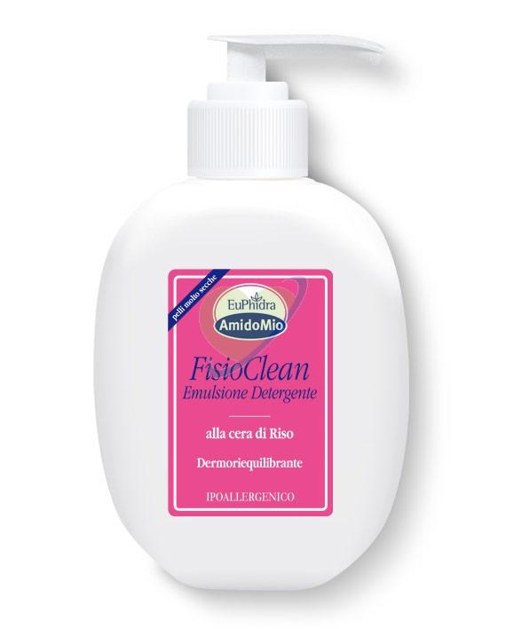 EuPhidra AmidoMio Linea Pelle Delicata Fisioclean Detergente Cera di Riso 200 ml