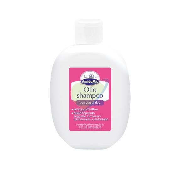 EuPhidra Linea AmidoMio Olio Shampoo Detergente Fisiologico Pelli Sensib 200 ml