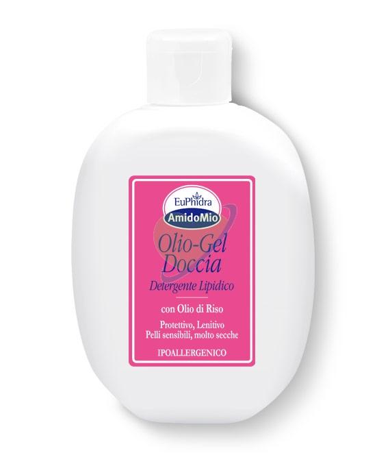 EuPhidra Linea AmidoMio Olio Gel Doccia Nutriente Pelli Sensibili 200 ml