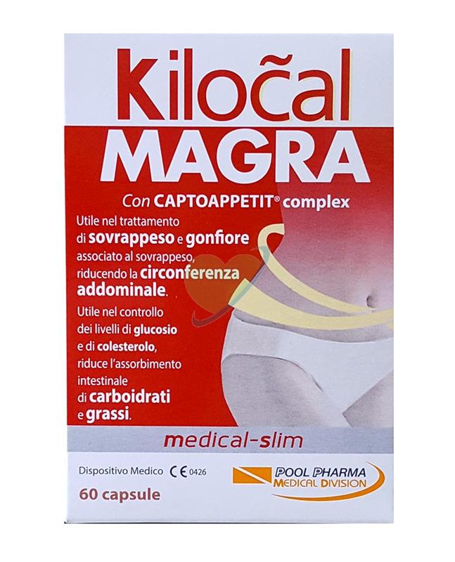 Kilocal Linea Dispositivi Medici Controllo del Peso Kilocal Magra 60 Capsule
