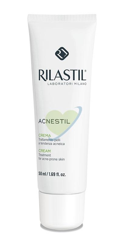 Rilastil Linea Acnestil Trattamento Viso in Crema Pelli Acneiche Sensibili 50 ml