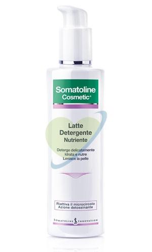 Somatoline Cosmetic Linea Detergenza Viso Latte Detergente Nutriente 200 ml