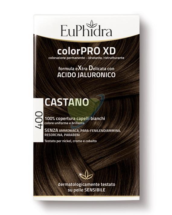 EuPhidra Linea ColorPRO XD Colorazione Extra-Delixata 400 Castano