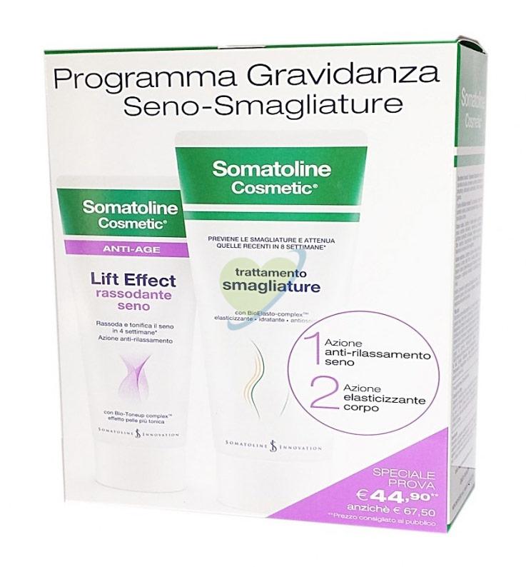 Somatoline Cosmetic Programma Gravidanza Seno-Smagliature Rassoda ed Elasticizza