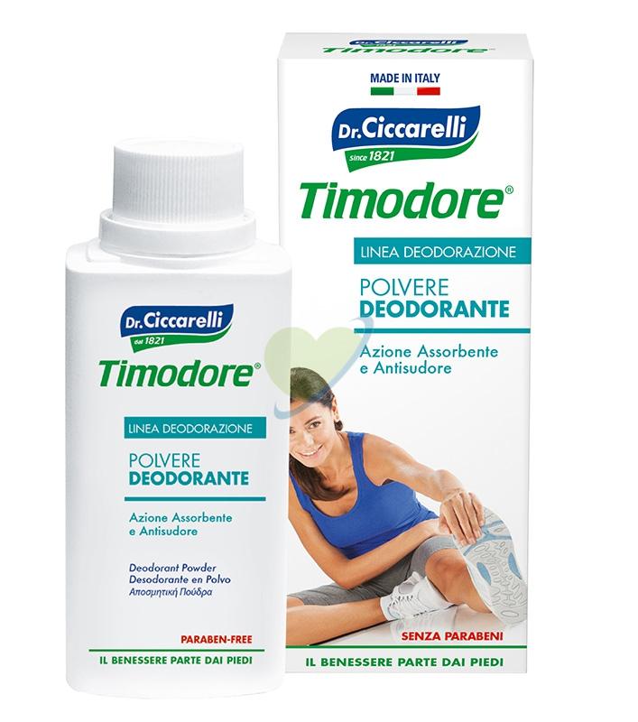 Dottor Ciccarelli Linea Deodorazione Piedi Polvere Assorbente Antisudore 250 g