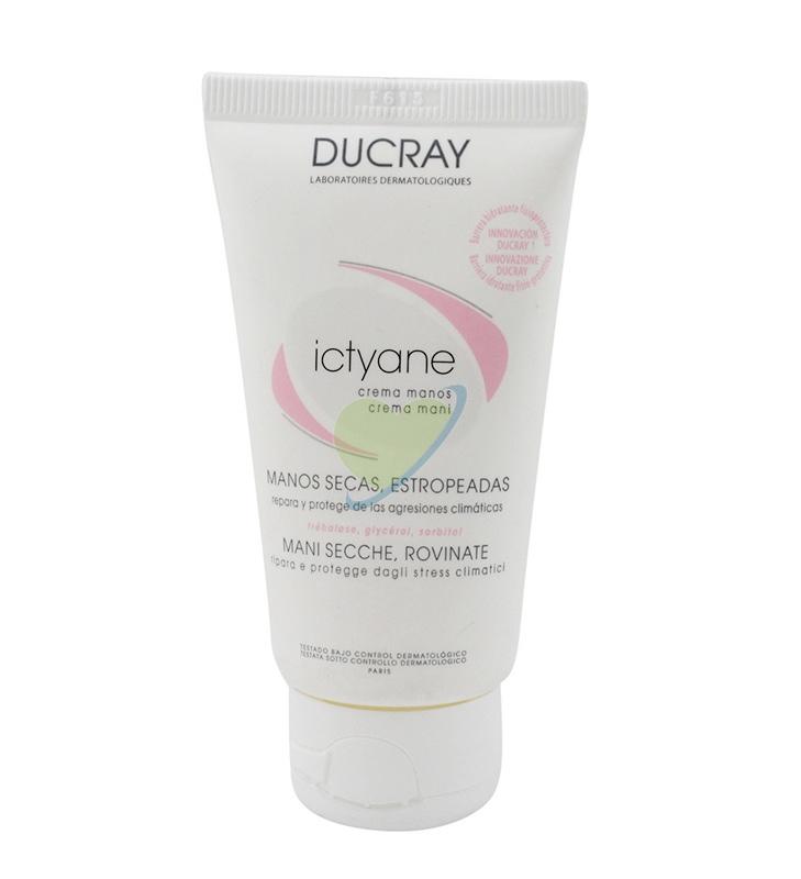 Ducray Linea Disidratazione Ictyane Crema Mani Idratante Rigenerante 50 ml