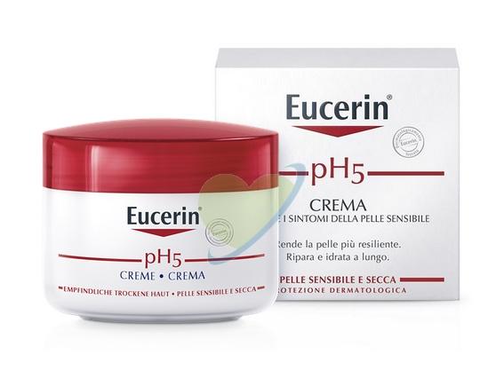 Eucerin Linea pH5 Crema Rigenerante Idratante Delicata Pelle Sensibile 75 ml