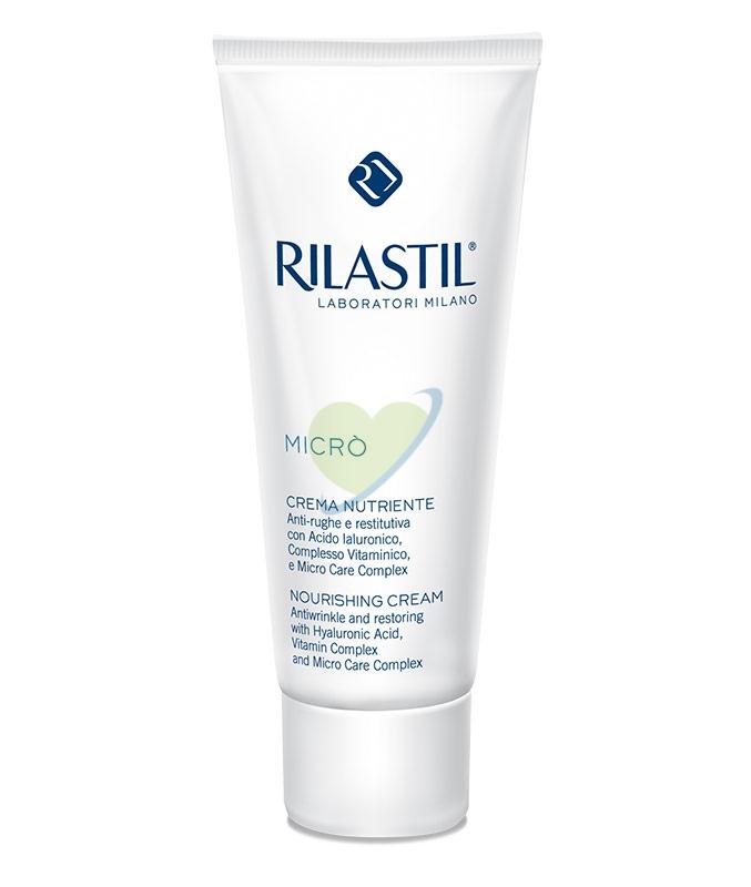Rilastil Linea Micrò Crema Nutriente Anti-Rughe Vitaminica Restitutiva 50 ml