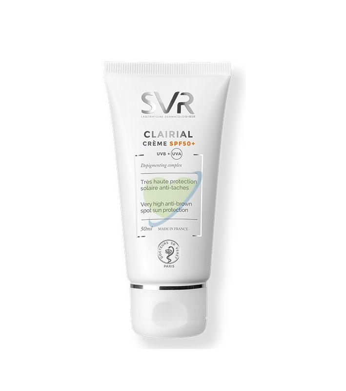 SVR Linea Clairial SPF50+ Creme Trattamento Schiarente Protettivo Crema 50 ml