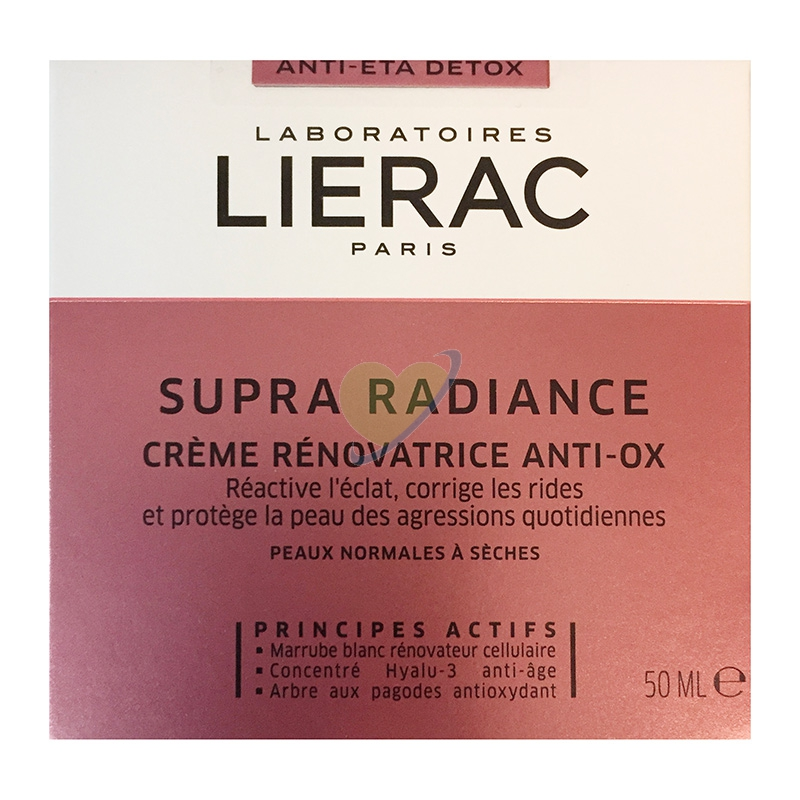 Lierac Supra Radiance Crema Giorno Anti-Ox Anti-Età Rimpolpante 50 ml