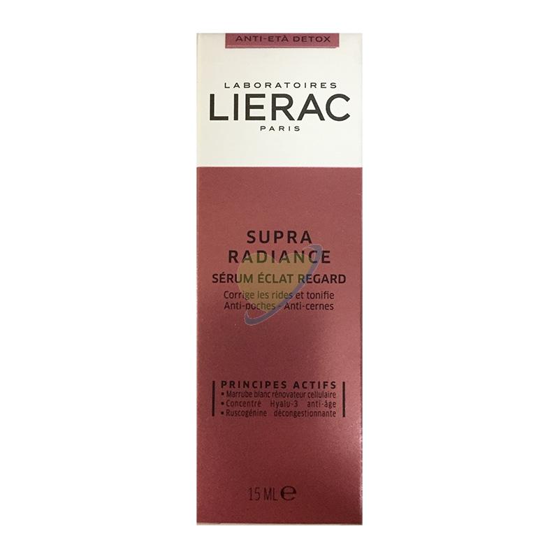 Lierac Linea Supra Radiance Siero Occhi Correttore Rughe e Illuminante 15 ml