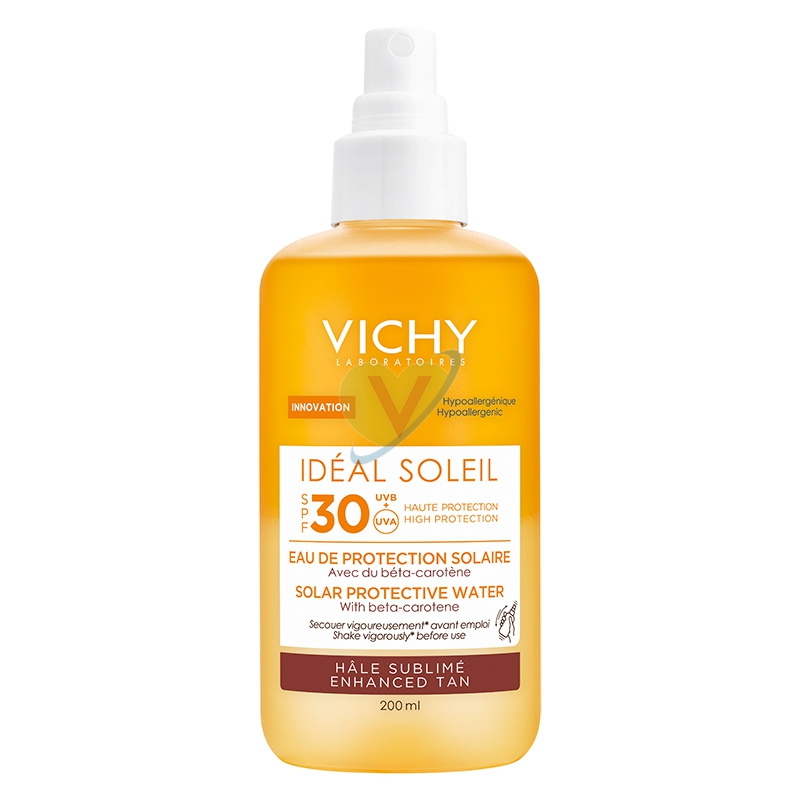 Vichy Linea Ideal Soleil SPF30 Acqua Solare Abbronzante Protettiva 200 ml