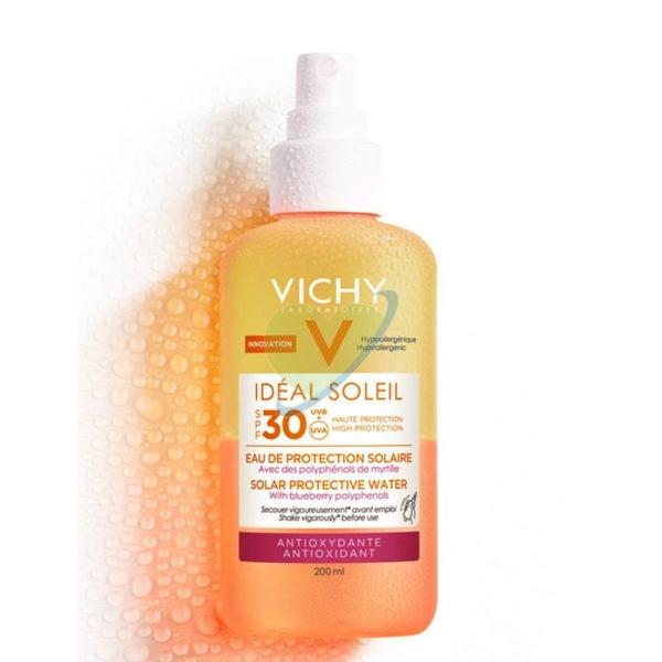 Vichy Linea Ideal Soleil SPF30 Acqua Solare Antiossidante Protettiva 200 ml