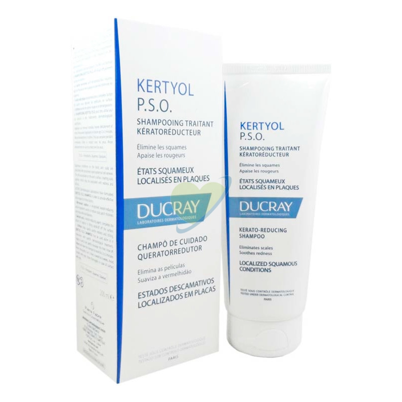 Ducray Linea Capelli Kertyol P.S.O. Shampoo Equilibrante Forfora a Placche 125ml