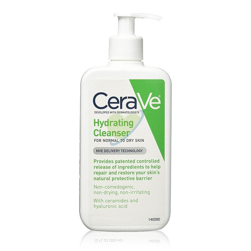 CeraVe Linea Detersione Viso Hydrating Cleanser Detergente Idratante 236 ml