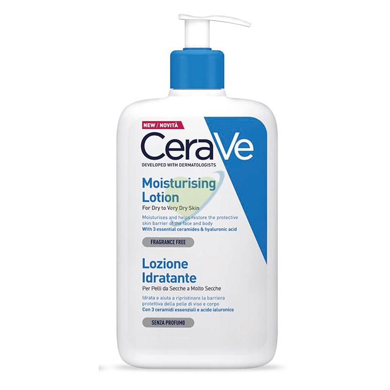 CeraVe Linea Trattamento Idratante Moisturizing Lotion Lozione Protettiva 236 ml