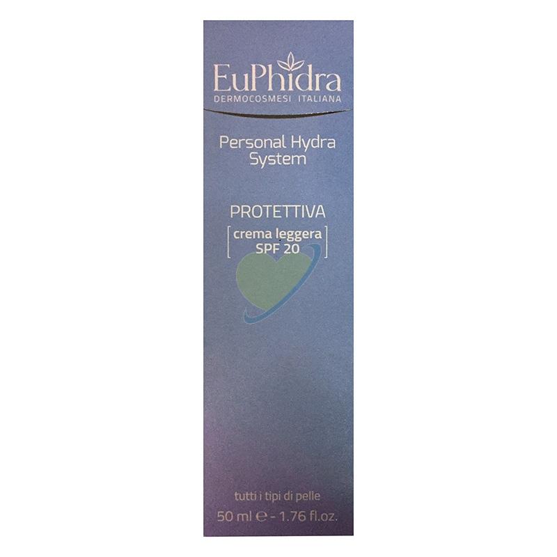 EuPhidra Linea Personal Hydra System Protettiva Crema Viso Leggera SPF20 50 ml
