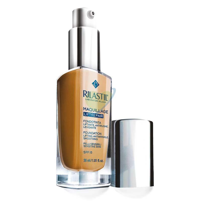 Rilastil Make-up Linea Maquillage Liftrepair Fondotinta Lift Antirughe Colore 50