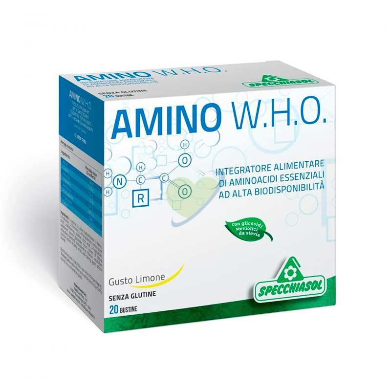Specchiasol Linea Benessere Energia Amino W.H.O. Integratore 20 Buste