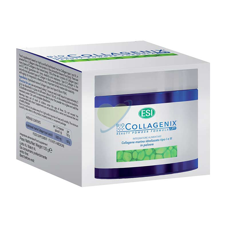 Esi Linea Bellezza della Pelle Biocollagenix Polvere Integratore Alimentare 120g