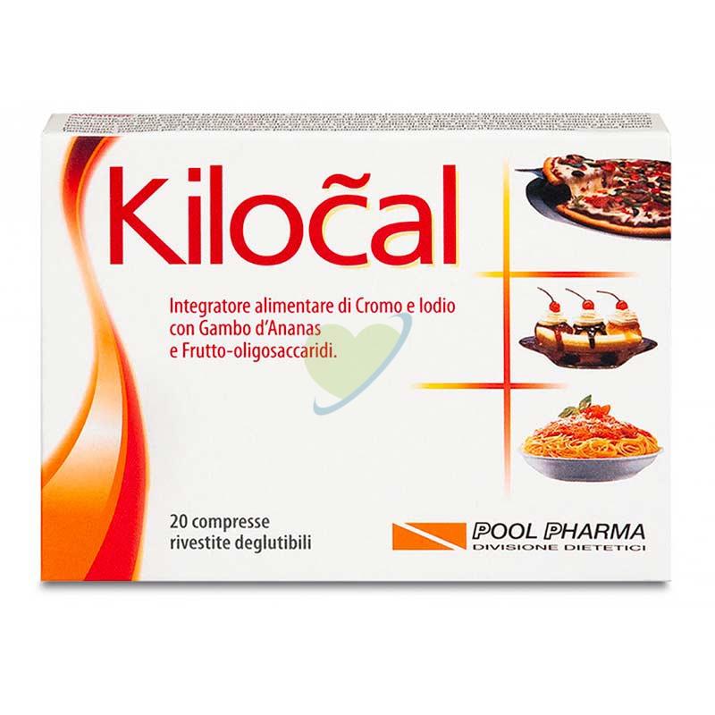 Kilocal Linea Controllo del Peso Classico Integratore Alimentare 20 Compresse