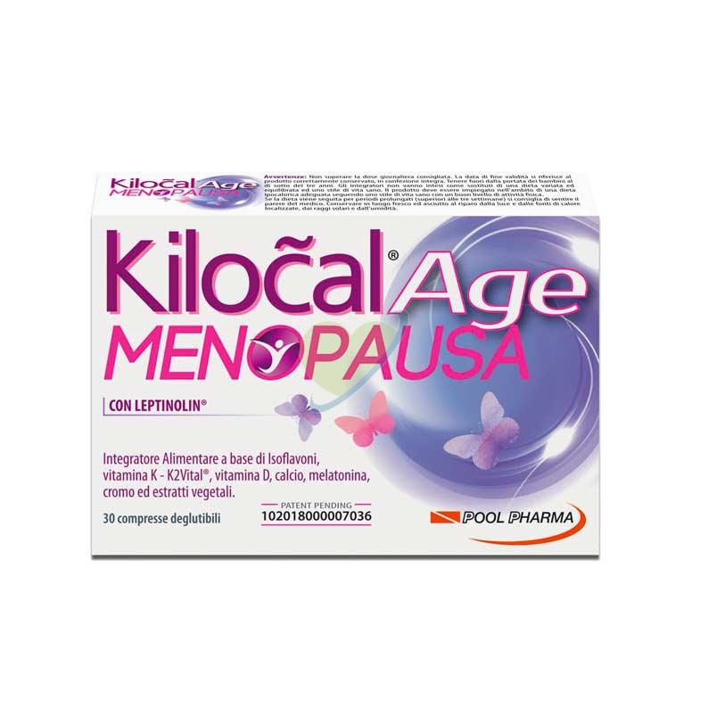 Kilocal Linea Controllo del Peso Age Menopausa Integratore 30 Compresse