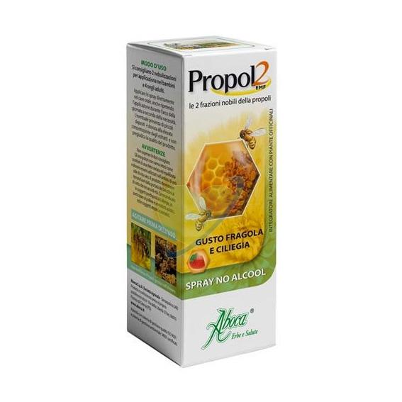 Aboca Integratori Linea Benessere Gola Propol2 EMF Spray Senza Alcool 30 ml
