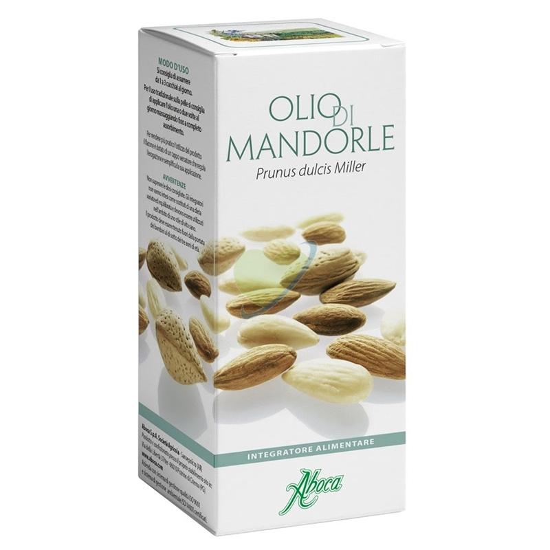Aboca Integratori Linea Pelle e Intestino Olio di Mandorle Dolci 100 ml