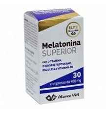 Marco Viti Elite Melatonina SUPERIOR Integratore 30 Compresse Da 466 mg